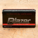 CCI Blazer 38 Special Ammunition - 1000 Rounds of 158 Grain LRN