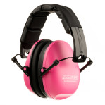 Champion Hearing Protection - Slim Ear Muffs - Passive / Pink - 21 NRR - One Pair