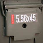 Ammo Can Label - 1 Count - 5.56x45