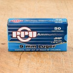 Prvi Partizan 9mm Luger Ammunition - 1000 Rounds of 115 Grain JHP