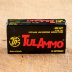 Tula Ammo 380 ACP Ammunition - 50 Rounds of 91 Grain FMJ