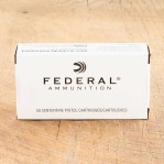 Federal 9mm Luger Ammunition - 50 Rounds of +P+ 115 Grain JHP