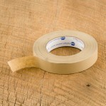 "Patching Tape - 36 Rolls - 1"" x 60 YD Tan"