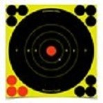 "Birchwood Casey Splatter Targets - 6 Shoot-N-C Targets - 8"" Bullseye - Yellow"