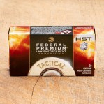 Federal Premium Law Enforcement 9mm Luger Ammunition - 50 Rounds of 124 Grain HST HP