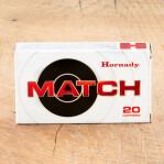 Hornady Match 308 Winchester Ammunition - 200 Rounds of 168 Grain HPBT