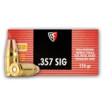 Fiocchi 357 Sig Ammunition - 50 Rounds of 124 Grain FMJTC