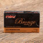 PMC Bronze 223 Remington Ammunition - 20 Rounds of 55 Grain PSP