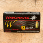 Winchester Train 45 ACP Ammunition - 50 Rounds of 230 Grain FMJ