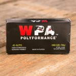 Wolf WPA 45 ACP Ammunition - 500 Rounds of 230 Grain FMJ