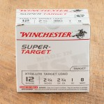 "Winchester Target 12 Gauge Ammunition - 25 Rounds of 2-3/4"" 1 oz. #8 Shot"
