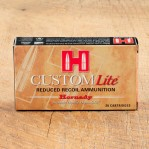 Hornady Custom Lite 308 Winchester Ammunition - 20 Rounds of 125 Grain SST
