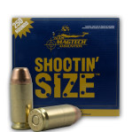 Magtech Shootin Size 40 S&W Ammunition - 1000 Rounds of 180 Grain FMJ
