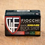 "Fiocchi Exacta Reduced Recoil 12 Gauge Ammunition - 250 Rounds of 2-3/4"" 00 Buck Shot"