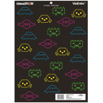 """Champion Splatter Targets - 12 VisiColor Fun and Games Targets - 18"""" x 13"""""""