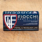 Fiocchi 40 S&W Ammunition - 50 Rounds of 180 Grain CMJTC