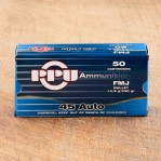 Prvi Partizan 45 ACP Ammunition - 500 Rounds of 230 Grain FMJ