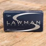Speer Lawman 9mm Luger Ammunition - 50 Rounds of 124 Grain TMJ