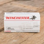 Winchester 45 ACP Ammunition - 500 Rounds of 230 Grain FMJ