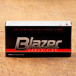 Blazer 40 S&W Ammunition - 1000 Rounds of 180 Grain FMJ
