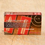 Hornady Superformance Match 308 Winchester Ammunition - 20 Rounds of 178 Grain BTHP