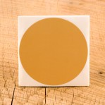 "Tan Target Pasters - 50 Count - 4"" Boxed Round Adhesive Pasters"