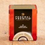 Federal Premium Personal Defense 40 S&W Ammunition - 500 Rounds of 180 Grain Hydra-Shok JHP