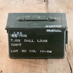 Malaysian Surplus Ammo Can 7.62 NATO Ammunition - 540 Rounds of 146 Grain FMJ