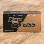 Blazer Brass 9mm Luger Ammunition - 50 Rounds of 115 Grain FMJ