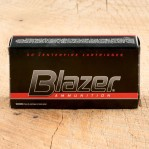 Blazer 38 Special Ammunition - 50 Rounds of 158 Grain LRN
