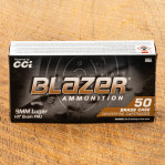 Blazer Brass 9mm Ammunition - 1000 Rounds of 147 Grain Full Metal Jacket