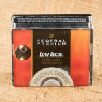 Federal Premium Personal Defense 380 ACP Ammunition - 200 Rounds of 90 Grain Hydra-Shok JHP