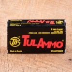 Tula 9mm Luger Ammunition - 1000 Rounds of 115 Grain FMJ