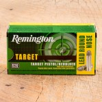 Remington Target 38 Special Ammunition - 500 Rounds of 158 Grain LRN