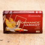 Hornady Superformance Varmint 223 Remington Ammunition - 20 Rounds of 35 Grain NTX Polymer Tipped