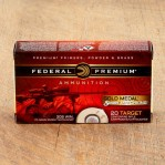 Federal Premium Sierra Match King 308 Winchester Ammunition - 200 Rounds of 175 Grain HP-BT