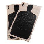 "B-27 (24"") Paper Targets - 50 Yd Police Silhouette - 100 Count"