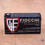 Fiocchi 38 Special Ammunition - 50 Rounds of 158 Grain FMJ