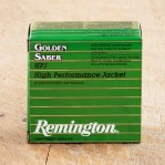Remington Golden Saber 40 S&W Ammunition - 25 Rounds of 165 Grain JHP