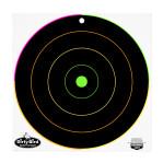 """Birchwood Casey Dirty Bird Multi-Color Targets - 10 Reactive Targets - 12"""" Bullseye"""