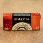 Federal Gold Medal Match 223 Remington Ammunition - 500 Rounds of 69 Grain BTHP