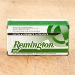 Remington UMC 357 Magnum Ammunition - 500 Rounds of 125 Grain JSP