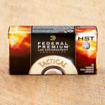 Federal Premium Law Enforcement 40 S&W Ammunition - 1000 Rounds of 180 Grain HST JHP