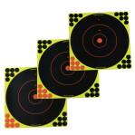 """Birchwood Casey Splatter Targets - 12 Shoot-N-C Targets - 12"""" Bullseye"""