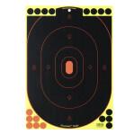 Birchwood Casey Splatter Targets - 5 Shoot-N-C Targets - 12x18 Silhouette