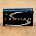 Speer Lawman 38 Special Ammunition - 1000 Rounds of 158 Grain TMJ