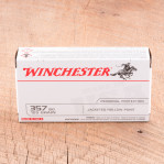 Winchester 357 Sig Ammunition - 50 Rounds of 125 Grain JHP