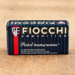 Fiocchi 357 Magnum Ammunition - 50 Rounds of 125 Grain SJSP