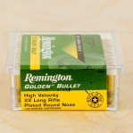 Remington Golden Bullet 22 LR Ammunition - 100 Rounds of 40 Grain CPRN