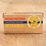 Winchester Ranger 40 S&W Ammunition - 50 Rounds of 180 Grain FMJ Reduced Lead